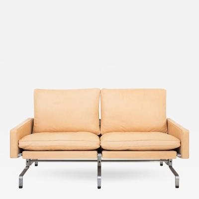 Poul Kj rholm PK 31 2 Sofa in Natural Leather