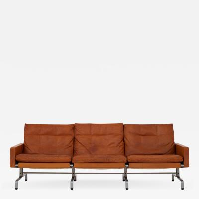 Poul Kj rholm PK 31 3 3 seater sofa in original leather