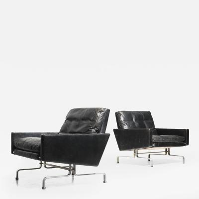 Poul Kj rholm PK 31 Pair of armchairs