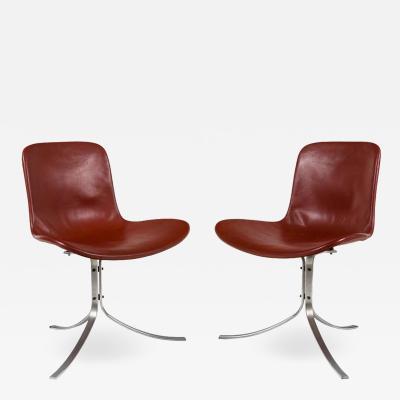 Poul Kjaerholdm PK 9 Side Chairs for E Kold Christensen
