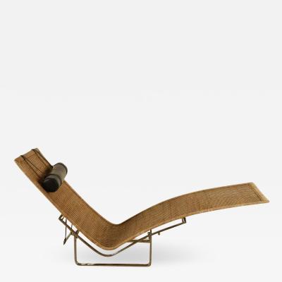 Poul Kjaerholm Kj rholm Chaise Lounge PK24 by Poul Kj rholm