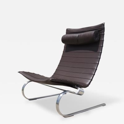 Poul Kjaerholm PK 20 Easy Chair by Poul Kjaerholm for Fritz Hansen