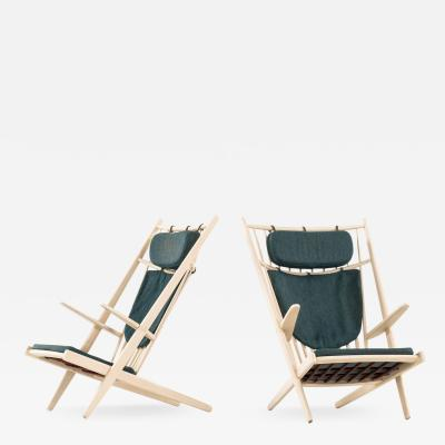 Poul Volther Easy Chairs Model Goliat Produced by Gemla