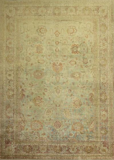 Powder Blue Persian Meshed rug no j1560