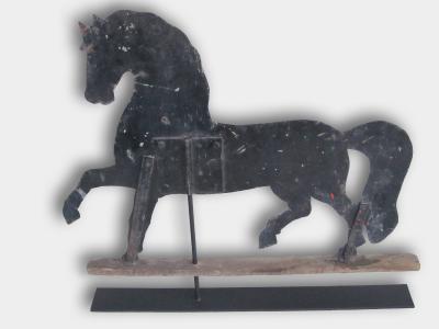 Prancing Sheet Horse Weather Vane