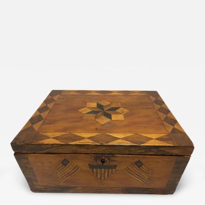 Pre Civil War Box Inlaid