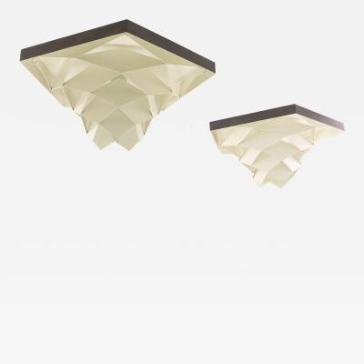 Preben Dal Symfoni ceiling lights by Preben Dahl for Hans F lsgaard Belysning 1960s
