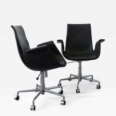 Preben Fabricius 2 Office Chairs FK 6725