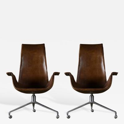 Preben Fabricius Fabricius and Kastholm Bird Chairs