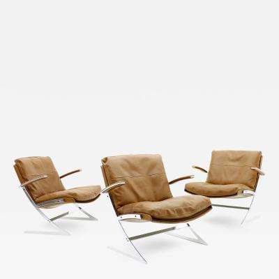 Preben Fabricius Lobby Chairs by Preben Fabricius for Arnold Exclusiv 1972
