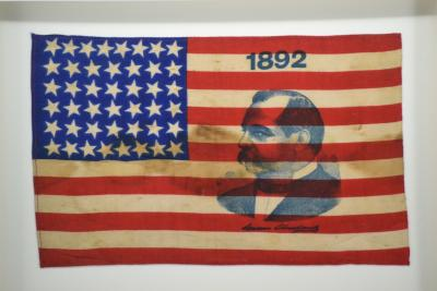 Presidential Campaign Flag with Image