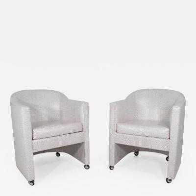 Preview Pair of Club Chairs by Preview Furniture Company