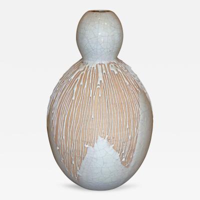 Primavera Atelier du Printemps Important Vase by Primavera 1930s
