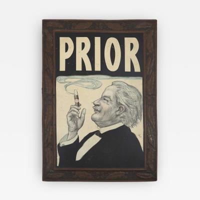 Prior avertising sign 1924