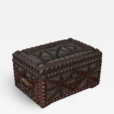 Prisoner Tramp Art Box