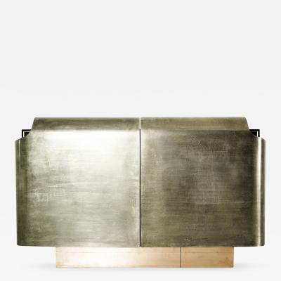 Privatiselectionem Armour Silvered Brass Sideboard 2016