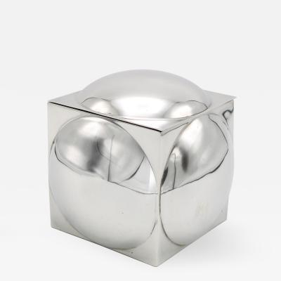 Prototype Modernist Silver Box