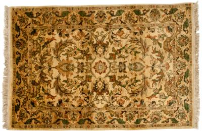 Pure Wool Hand Knotted Persian Area Rug