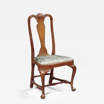 Queen Anne Balloon Seat Side Chair