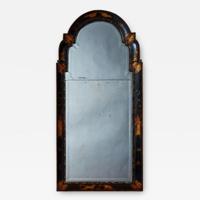 Queen Anne Chinoiserie Cushion Mirror