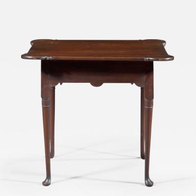 Queen Anne Porringer Top Tea Table