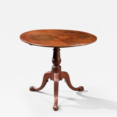 Queen Anne Tilt Top Tea Table