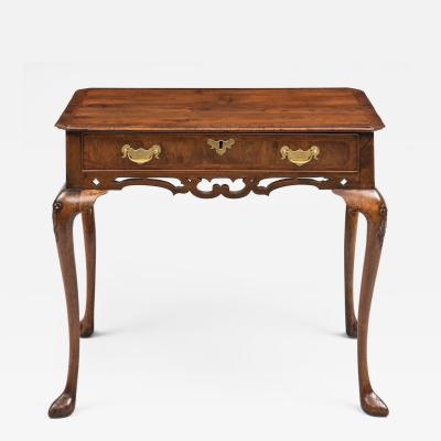Queen Anne Walnut Side Table Circa 1710