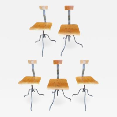 Quirky Comfortable European Industrial Chairs