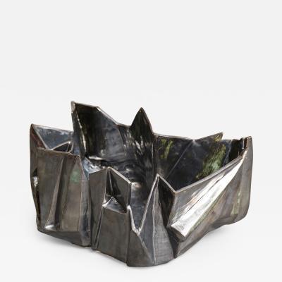 R A Pesce Large Steel Bowl II