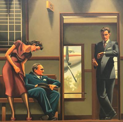 R Kenton Nelson Have Pity on the Easterner Airport