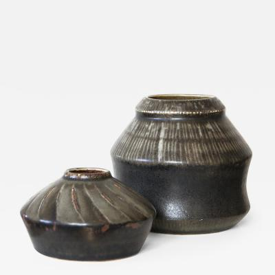 R rstrand Studio Vase Duo by Carl Harry St lhane for R rstrand Ateljer