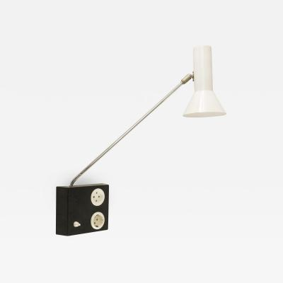 RAAK Adjustable wall lamp No R 58 by Raak Amsterdam 1970s