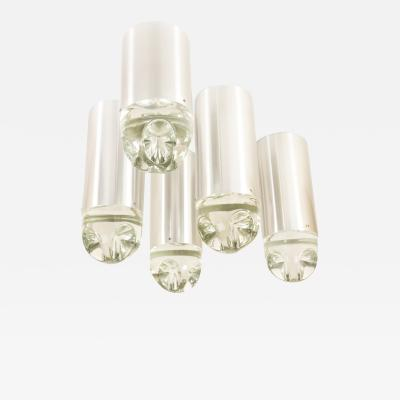 RAAK Set of 8 Ceiling lights Model P 1415 by RAAK Amsterdam 1970s