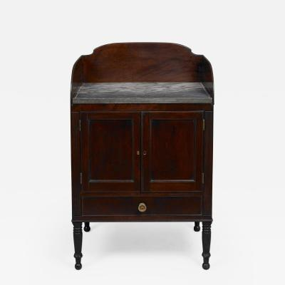 RARE FEDERAL MARBLE TOP WASH STAND