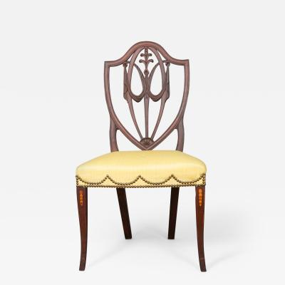 RARE HEPPLEWHITE SIDE CHAIR