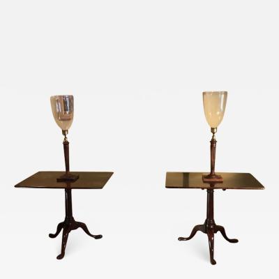 RARE PAIR GEORGIAN TABLES ENGLISH SCOTTTISH CIRCA 1740