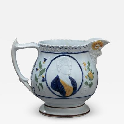 RARE PEARLWARE PITCHER