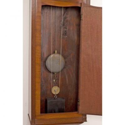 REGENCY MAHOGANY TAVERN CLOCK