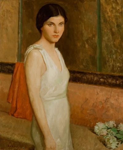 Rae Sloan Bredin Polly in White