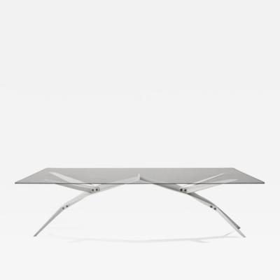 Rafael Silva The Compression Cocktail Dining Table by Rafael Silva