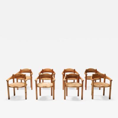 Rainer Daumiller Rainer Daumiller Pine Carver Chairs Denmark 1970s