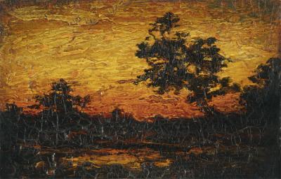 Ralph Albert Blakelock Landscape