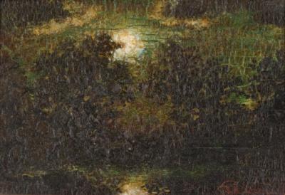Ralph Albert Blakelock Moonlit Landscape