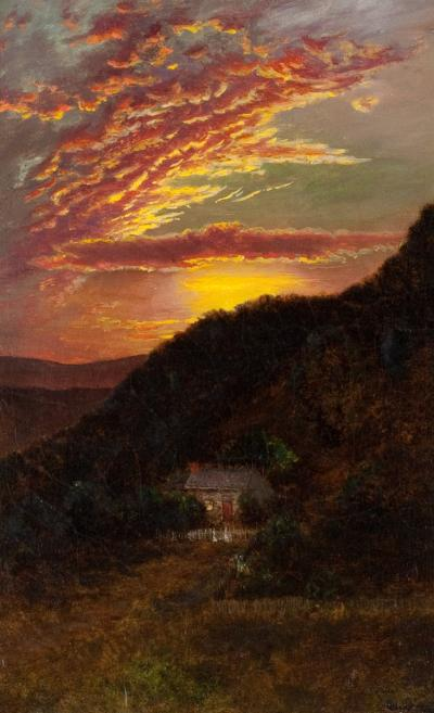 Ralph Albert Blakelock Sunset