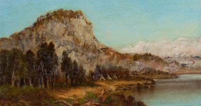 Ralph Albert Blakelock Western Landscape