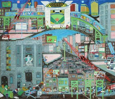 Ralph Fasanella I Love New York