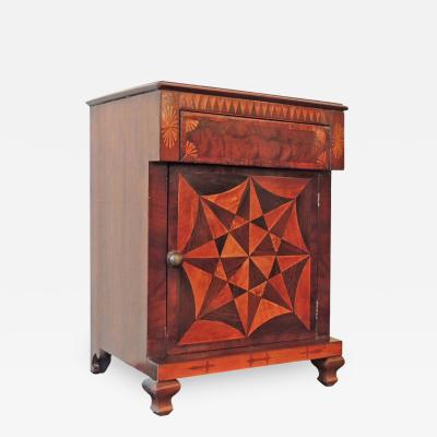 Ralph Turnbull 19th C Jamaican Miniature Spice Cabinet attributed to Ralph Turnbull
