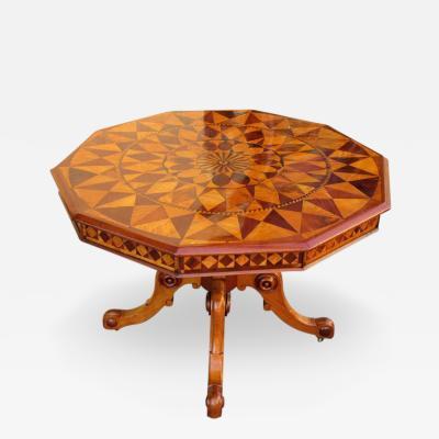Ralph Turnbull 19th C West Indies Regency Specimen Top Table