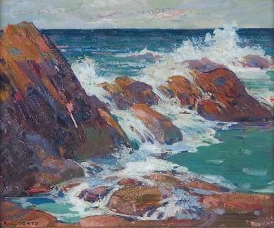 Randolph LaSalle Coats Glittering Waves