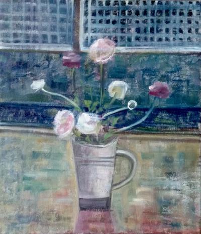 Ranunculus in Mug